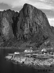 Fishing town, Lofoten (Norway)