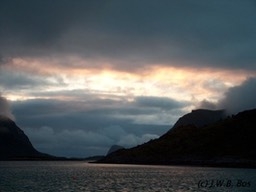 Stormy night (Lofoten, Norway)